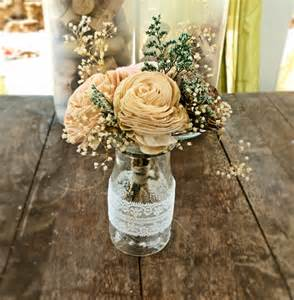 rustic wedding flower centerpieces rustic wedding centerpieces ideal weddings