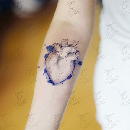 heartbeat temporary tattoo online get cheap heartbeat tattoo aliexpress com