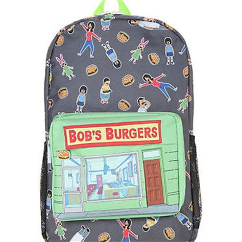 bobs burgers 22 minutes of hot mess cliqueclack tv bob s burgers store front backpack from hot topic bags