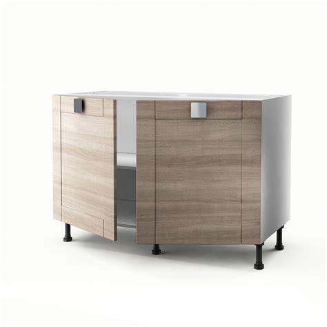 Formidable Evier Leroy Merlin Cuisine #5: meuble-de-cuisine-sous-evier-decor-chene-2-portes-karrey-h-70-x-l-120-x-p-56-cm.jpg