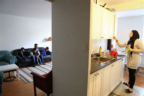 Yousef S Kitchen by Refugee Family Thanks Sponsor For New