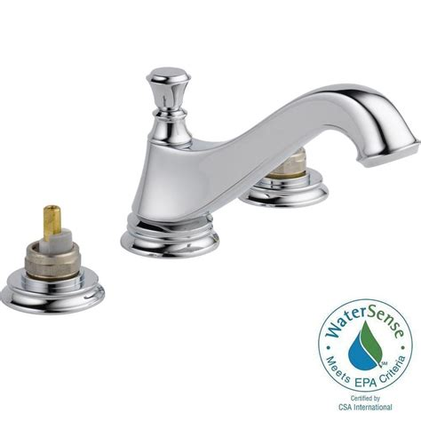 Delta Faucet Assembly by Delta Cassidy 8 In Widespread 2 Handle Bathroom Faucet