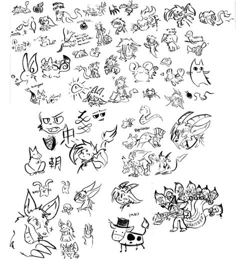 doodle brushes ginormous brush doodle page by raizy on deviantart