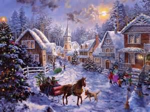 рождественские анимационные картинки