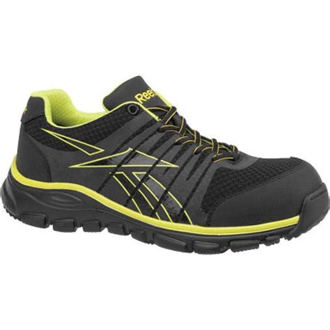 reebok work shoes reebok mens arion athletic composite toe work shoe rb4501