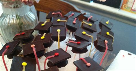 Georgetown Mba Graduation Robes by Cooking With Jilly Graduation Cake Pops