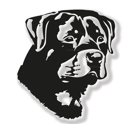 Auto Sticker Rottweiler by Rottweiler Hundeaufkleber F 252 R Das Auto Mit Name Ihres