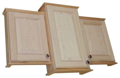 unfinished bathroom wall cabinets ashley series triple medicine cabinet 43 5 quot w unfinished