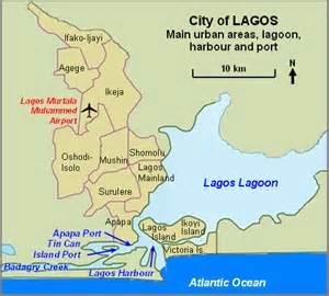 Lagos Africa Map by Lagos State Map Ebonybidemie