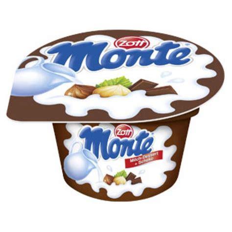 Zott Monte Dessert Coklat 55g zott junglekey de bilder