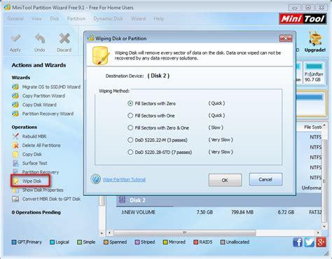 format hard disk securely secure wipe hard drive linux