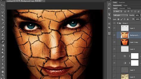 photoshop cs5 tutorial cracked face photo manipulation 18 ps crack face 1 photoshop tutorial in hindi youtube