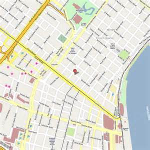 New Orleans French Quarter Tourist Map by Maps Update 27821888 New Orleans French Quarter Tourist