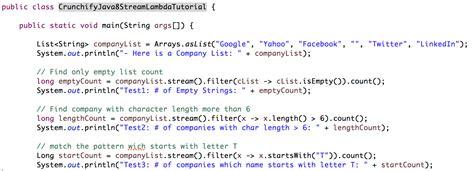 java 8 lambda design pattern java 8 stream api operations and lambda expression