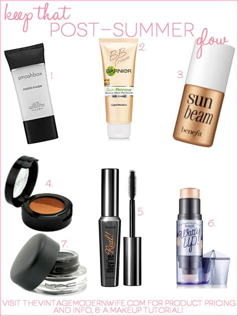 Your Summer Makeup Must Haves For 08 by Keep That Post Summer Glow With These Makeup Must Haves