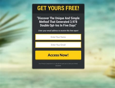 simple lead capture marketing pages made easy
