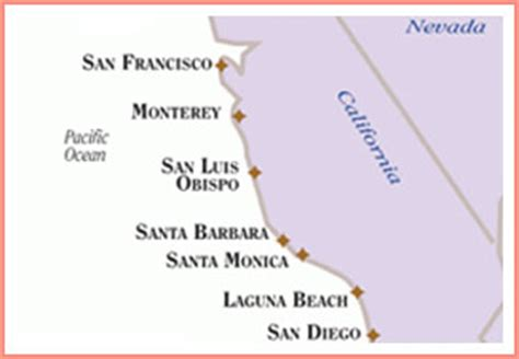 Pch Map Road Trip - best summer road trips