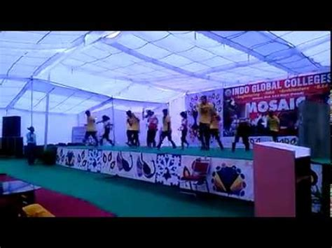 indo global college of engineering abhipur mosaic 2015 1 youtube