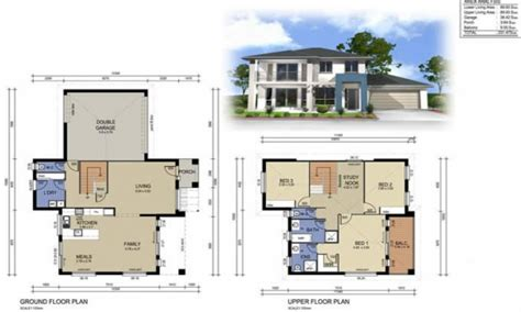 2 Storey House Plans | 2 story modern house designs 2 storey house design with