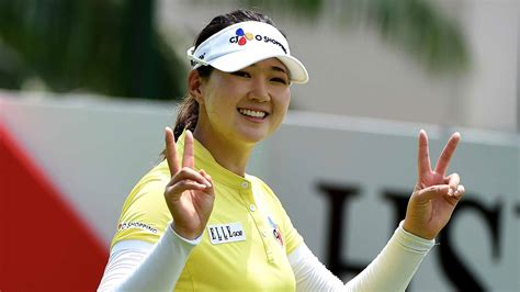 swings korean q baek hoping to go back to back at lpga keb hana bank
