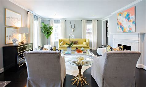 yellow couch living room how to design with and around a yellow living room sofa