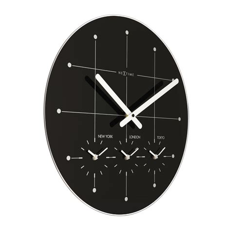 large wall clock buy big city large wall clock black white online purely
