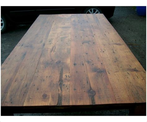 Harvest Table 7 Foot Reclaimed Woood