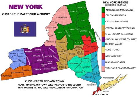 ny county map upstate new york map by county