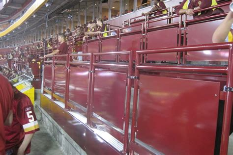 standing room tickets the official for fedex field standing room only tickets hogs