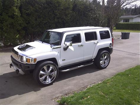 hummer jeep white white hummer h3 suv sport utility pinkys pins