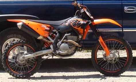 Ktm 250 Sx 2007 Ktm 250 Sx F 2007 Fotos Y Especificaciones T 233 Cnicas Ref