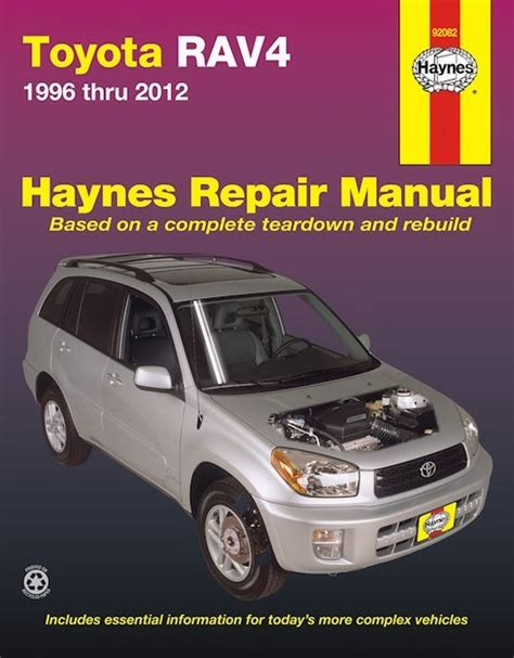 service manuals schematics 2012 toyota yaris user handbook toyota rav4 haynes repair manual 1996 2012 free shipping