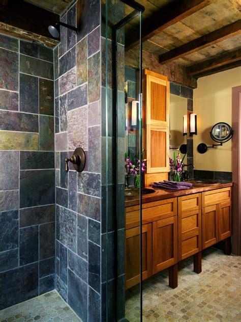 19 almost pure black bathroom design ideas digsdigs 35 amazing raw stone bathroom design ideas digsdigs