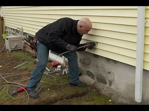 how to run underground wiring to a garage this house
