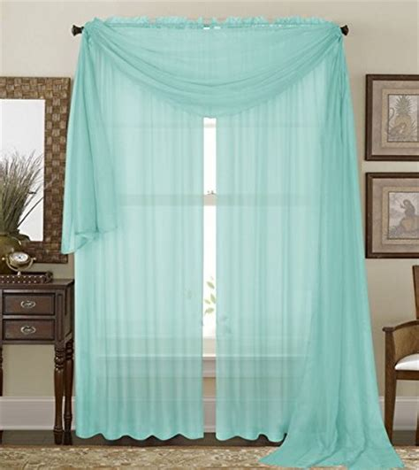 mint curtain panels 1 piece solid mint sheer window curtains drape panels
