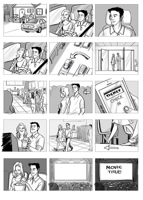 tv ad storyboard template 7 commercial storyboard templates free word pdf format