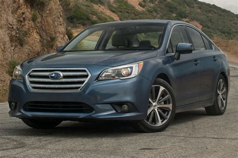 modified subaru legacy 2015 2015 subaru legacy 2 5i limited first test