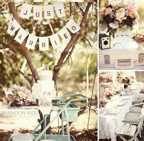 Vintage Style Wedding Decoration Ideas by Malu Boutiques Inspirational Wednesday Vintage Style