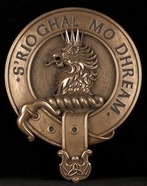 macgregor clan tattoo clan macgregor crest cold cast bronze badge wall plaque