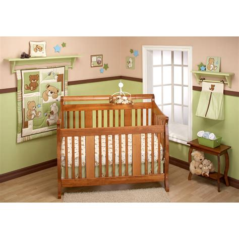 unisex baby bedding crib sets bedding by nojo land teddy unisex crib set
