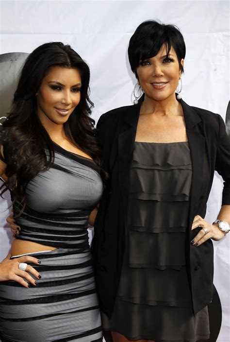 photo of kim kardashians mothers hairstyle kris jenner sterling bracelet watch kris jenner looks