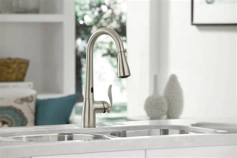 arbor kitchen faucet moen 7594esrs arbor single handle pull kitchen