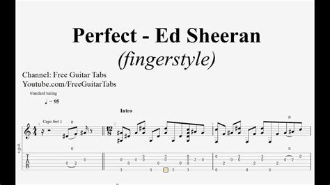 ed sheeran perfect guitar fingerstyle ed sheeran perfect guitar tab fingerstyle hd 1080p