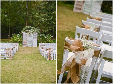 Backyard Summer Wedding Ideas Outdoor Country Wedding Reception Ideas