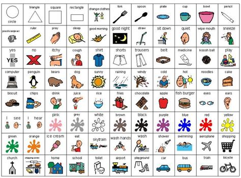 printable picture schedule autism pecs for free to print out pecs pinterest pecs