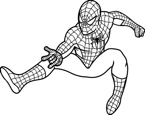 spiderman coloring page spiderman coloring pages dr odd