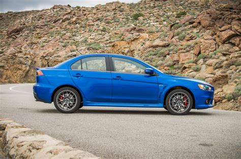 mitsubishi lancer evolution 2015 2015 mitsubishi lancer evolution mr side profile photo 4