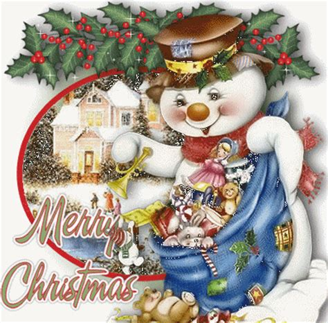 cute animaed merry christmas snowman pictures   images  facebook tumblr