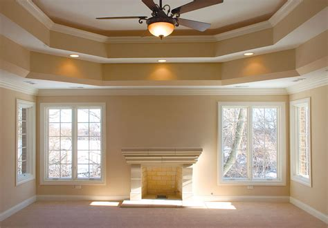 How To Paint A Tray Ceiling Ideas On How To Paint Our Tray Ceiling Celings