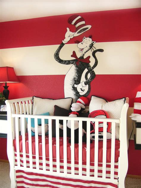 Cat In The Hat Nursery Decor with The Funky Letter Boutique Dr Seuss Kid S Room Idea 2